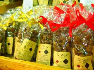 かわいい包装のチョコレート