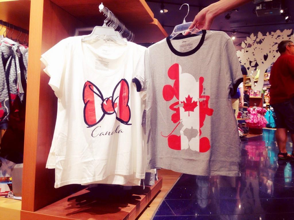 カナダ限定Tシャツ
