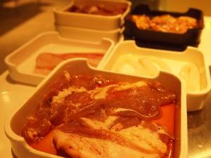 食べ放題のお肉
